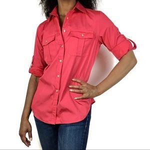 LAUREN Ralph Lauren   2 Pocket Button Down Shirt